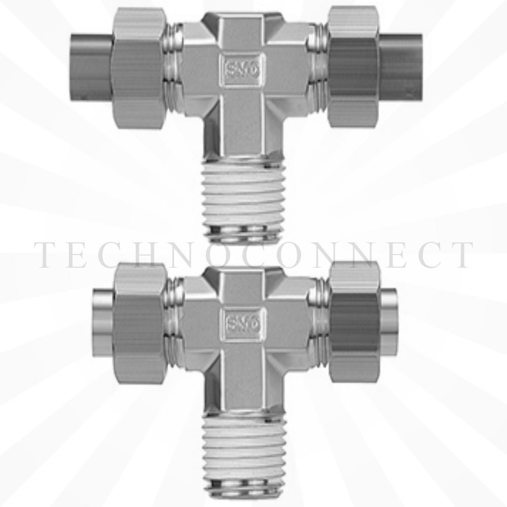 KFT04-01-X2  Тройник резьбовой угловой