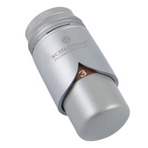 Головка термостатическая BRILLANT Сатин M28x1,5 HT
