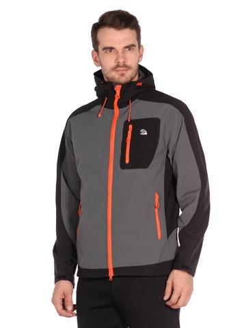 Куртка softshell серого цвета