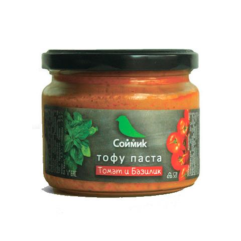 Тофу-паста Soymik томат и базилик, 260 г
