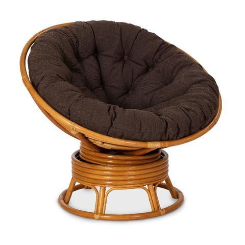 Кресло механическое PAPASAN, 23/01В К (подушка ткань триплированная С26 цвет коричневый)