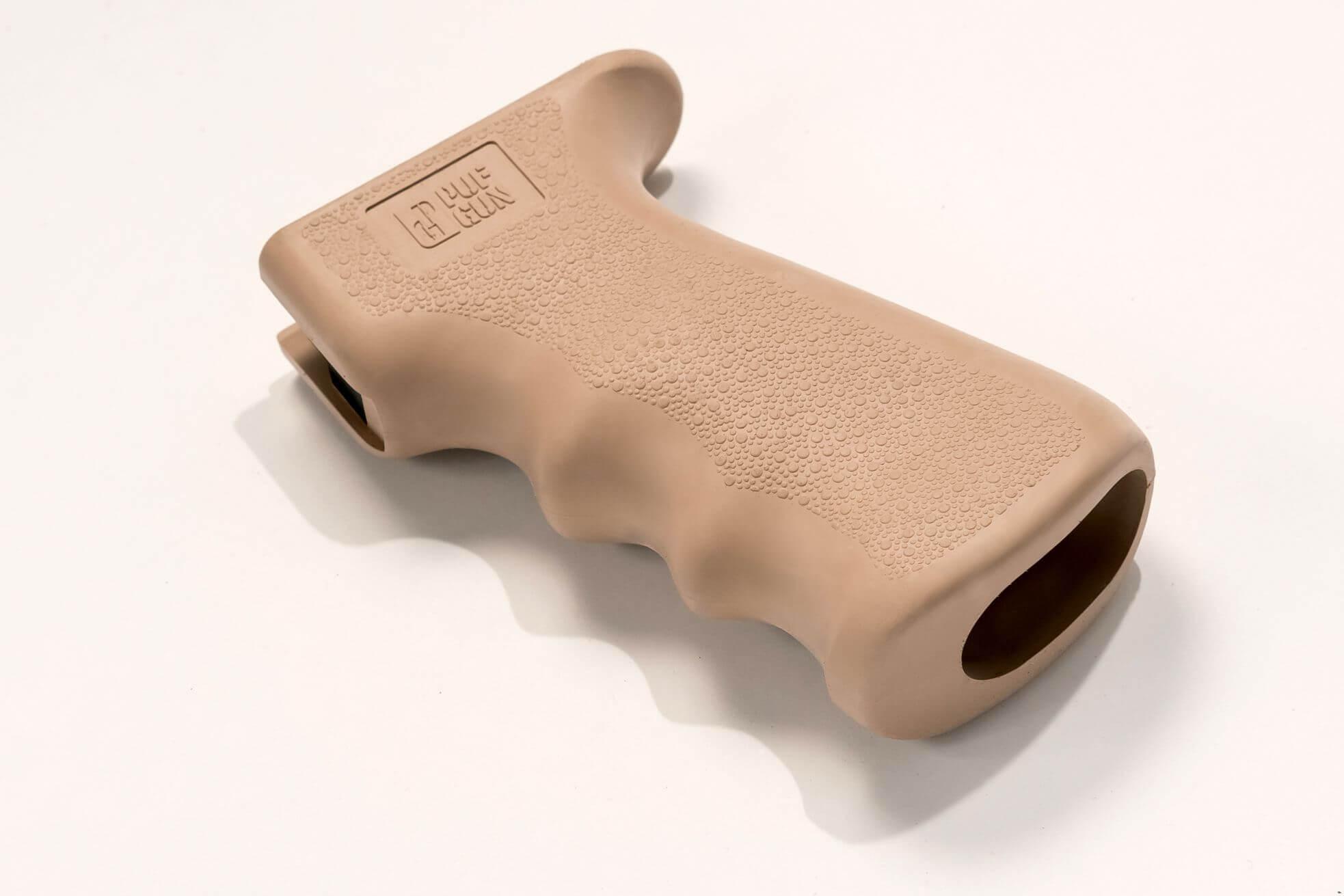 Пистолетная рукоятка Pufgun прорезиненная, песочный