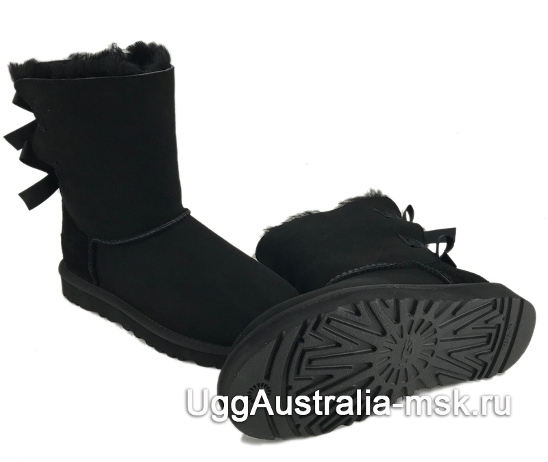 UGG Bailey Bow II Black