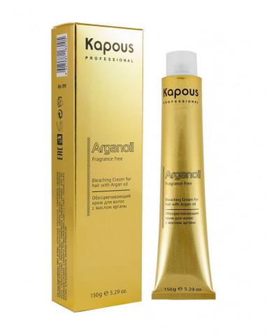 Обесцвечивающий крем для волос с маслом арганы, 150 г