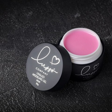 Гель LUSSO Modeling Gel pink 30мл