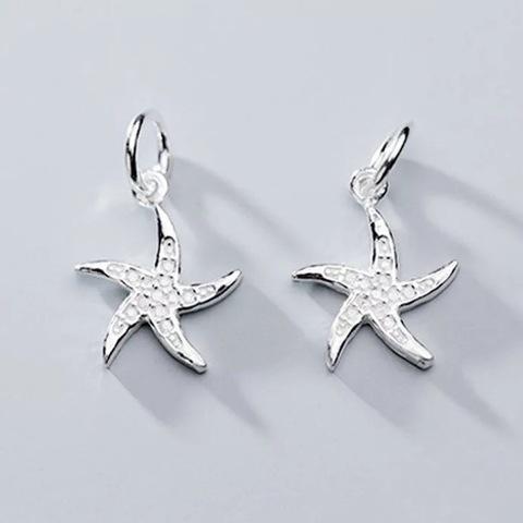 Подвеска Морская звезда светлое серебро 925 1 шт