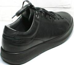 Мужские кеды кроссовки для ходьбы по городу осенне весенние Ikoc 1725-1 Black.