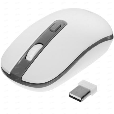 Мышь беспроводная ONE SBM-359AG-WG бело-серый Smartbuy