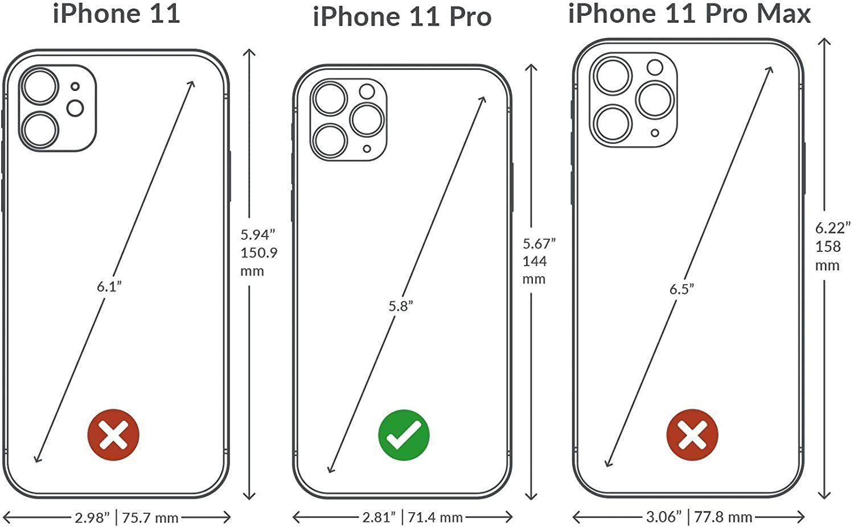 iphone 11 pro - lizard red