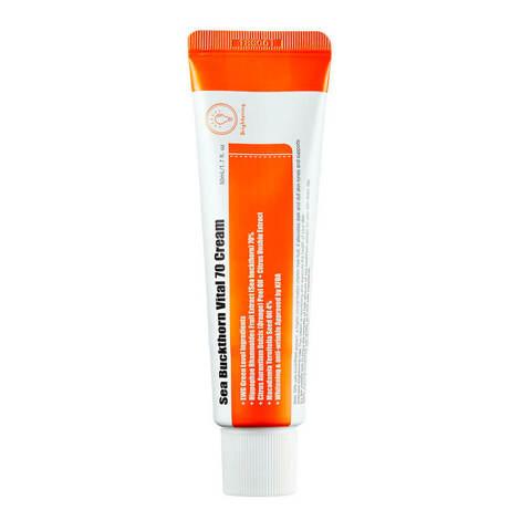 Витаминный крем Purito Sea Buckthorn Vital 70 Cream с экстрактом облепихи 50 мл