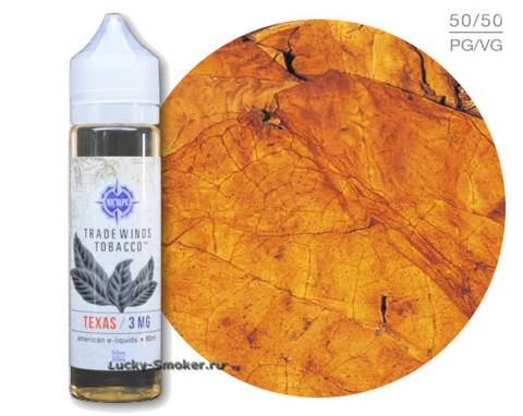 Жидкость Trade Winds Tobacco 60 мл Texas