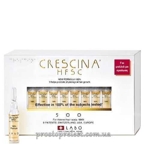 Crescina HFSC Re-Growth 500 Man - Средство для восстановления роста волос 500, формула для мужчин
