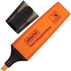 Текстовыделитель Attache Colored оранжевый (толщина линии 1-5 мм)