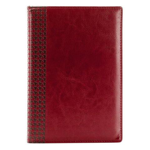 Ежедневник недатированный InFolio Lozanna искусственная кожа А5 160 листов бордовый (140х200 мм)