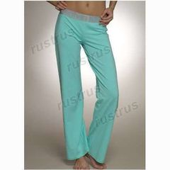 Женские штаны Calvin Klein бирюзовые