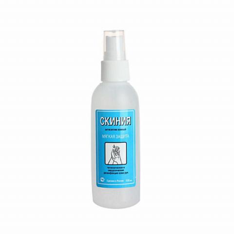 Кожный антисептик Скиния (60% спирта) 100 мл