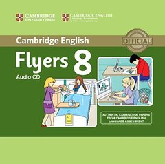 C Young Learners Eng Tests 8 Flyers Audio CD !!