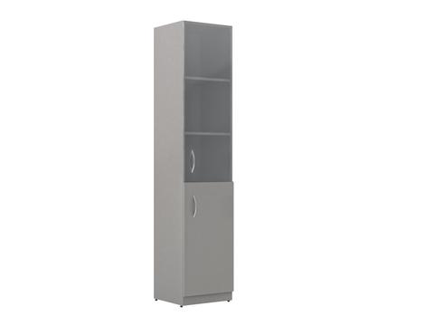 SR-5U.2(L/R) Шкаф колонка со стеклянными дверями (386х359х1815)