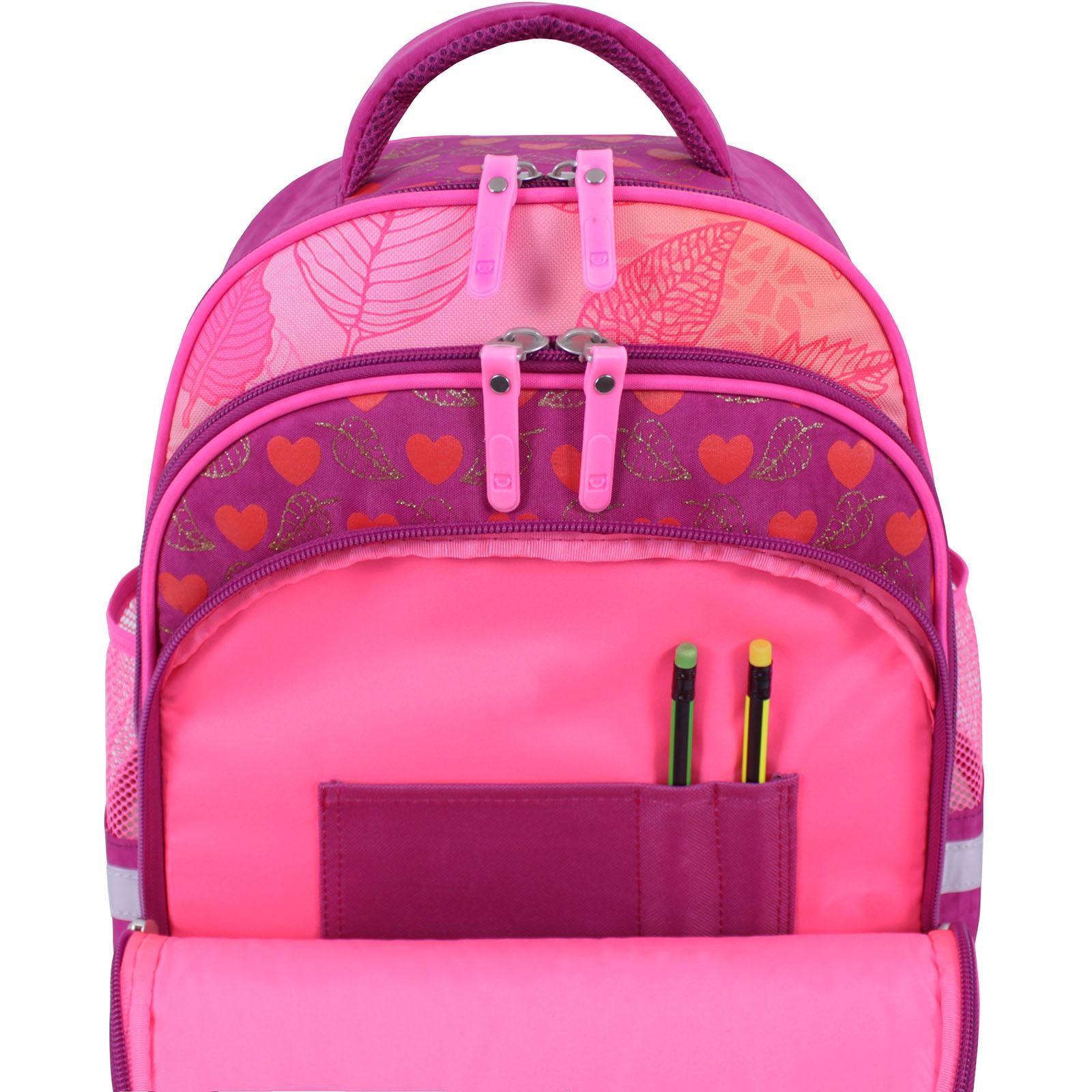 Рюкзак школьный Bagland Mouse 143 малиновый 512 (0051370) фото 5
