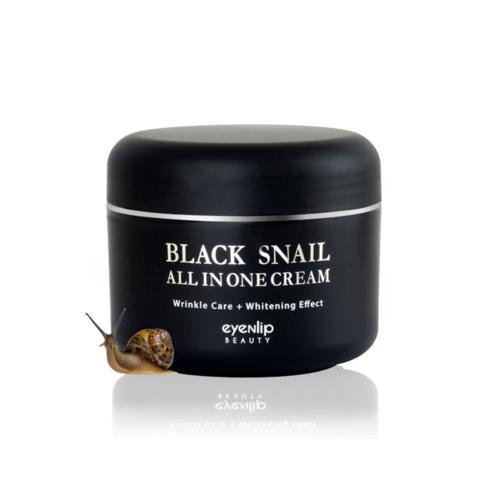Eyenlip Black Snail All In One Cream крем для лица многофункциональный с экстрактом черной улитки