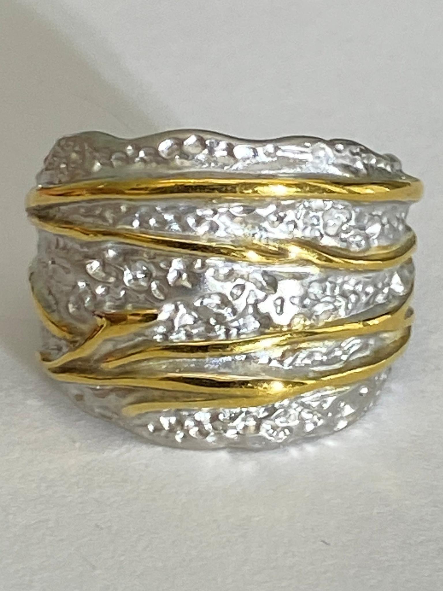 Парча (кольцо из серебра)
