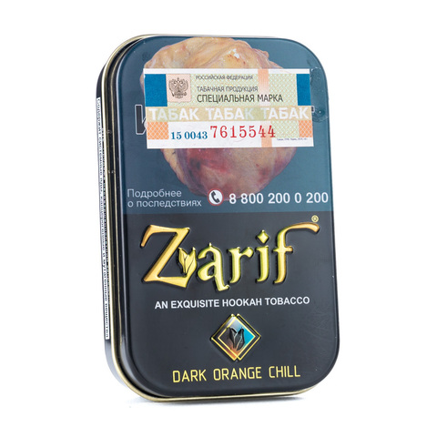 Табак Zarif Dark orange Chill (Апельсин мята) 50 г