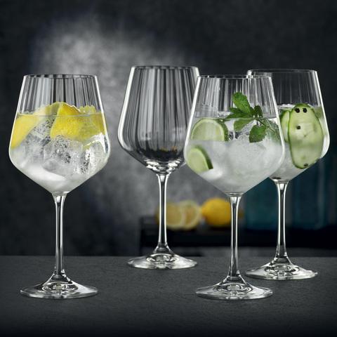 Набор из 4-х бокалов для коктейлей 640 мл, артикул 102892. Серия Gin & Tonic