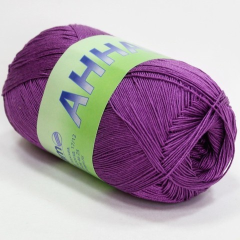 Пряжа Seam Анна 16 327 лиловый