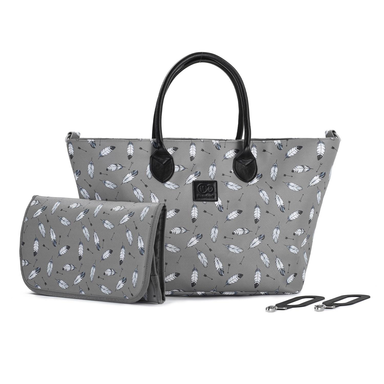 Сумка для мамы Kinderkraft Mommy Bag Grey