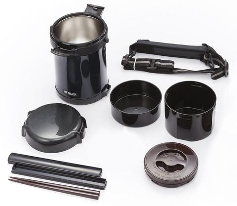 Термос для еды многофункциональный Tiger LWU-A (1,41 литра), темно-серый