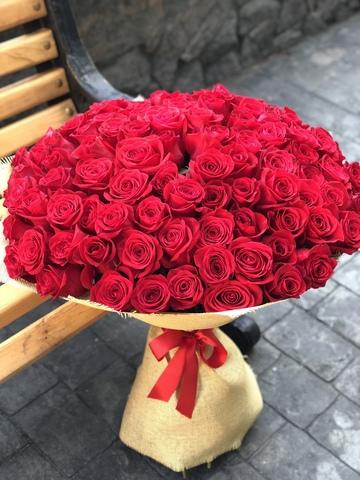 Букет из 101/51 королевской розы