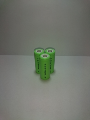 Аккумулятор 4/5A  Ni-Mh 2000mAh 1,2V 2,6Wh