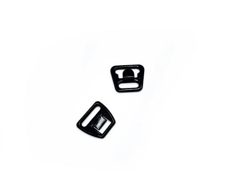 Крючок-застежка для бюстгальтера для кормящих мам черная 12 мм