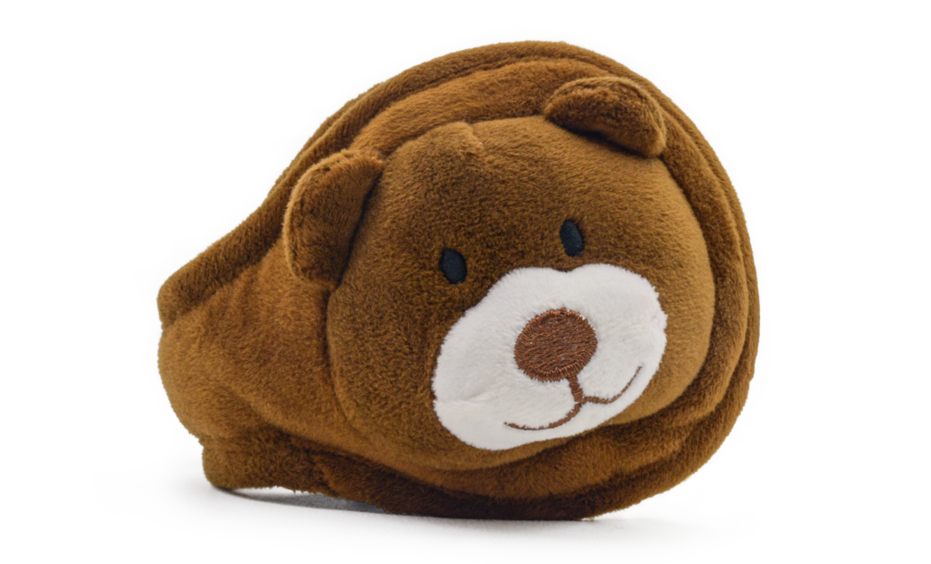 Teddy Plush Spice Brown