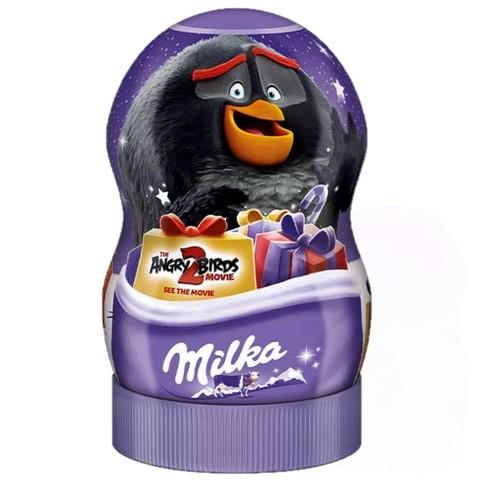 Шоколадные конфеты Milka Angry Birds с сюрпризами Black 81 гр
