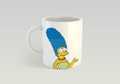 Кружка с рисунком из мультфильма Симпсоны (The Simpsons) белая 0012