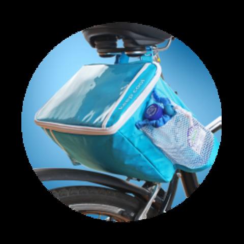 Термосумка Igloo Keep Cool Holiday Bike (5 л.), голубая