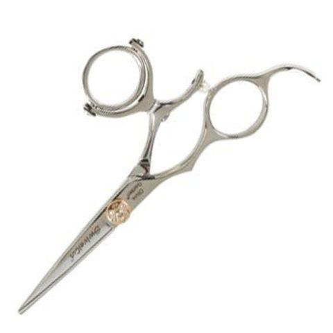 Профессиональные парикмахерские ножницы для стрижки Olivia Garden SwivelCut 500 для левши, с поворотным кольцом