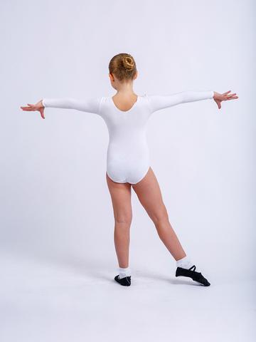 Купальник гимнастический длинный рукав