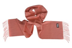Шерстяной шарф розовый 01401