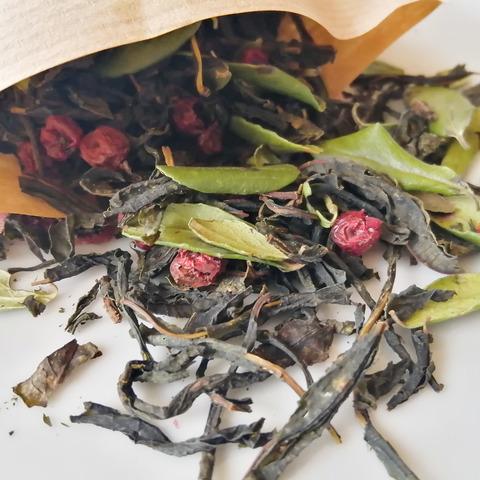 Иван-чай «с плодами и листьями брусники» из Суздаля