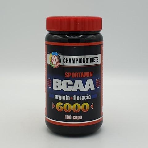Аминокислотный комплекс BCAA 6000 СПОРТАМИН Академия-Т, 180 капс