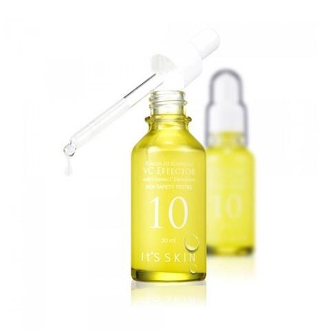Тонизирующая сыворотка для лица It's Skin с витамином С и экстрактом зелёного чая 30 мл