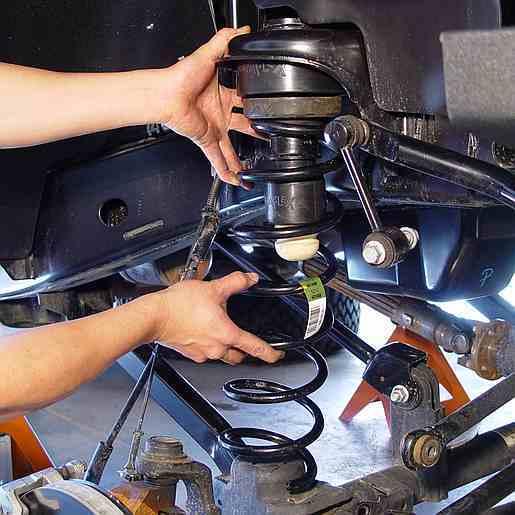 Замена пружин Jeep Wrangler