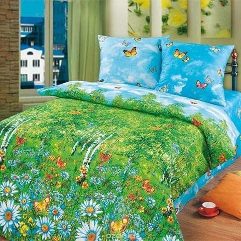 Комплект постельного белья Березовая роща Премиум