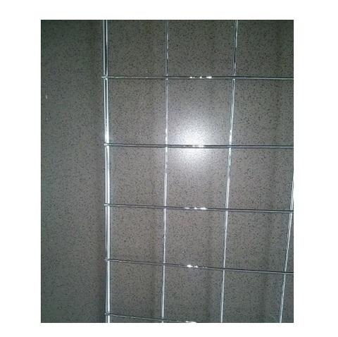 Сетка 1000 х 1000 (7*3) ячейка 50х50, хром