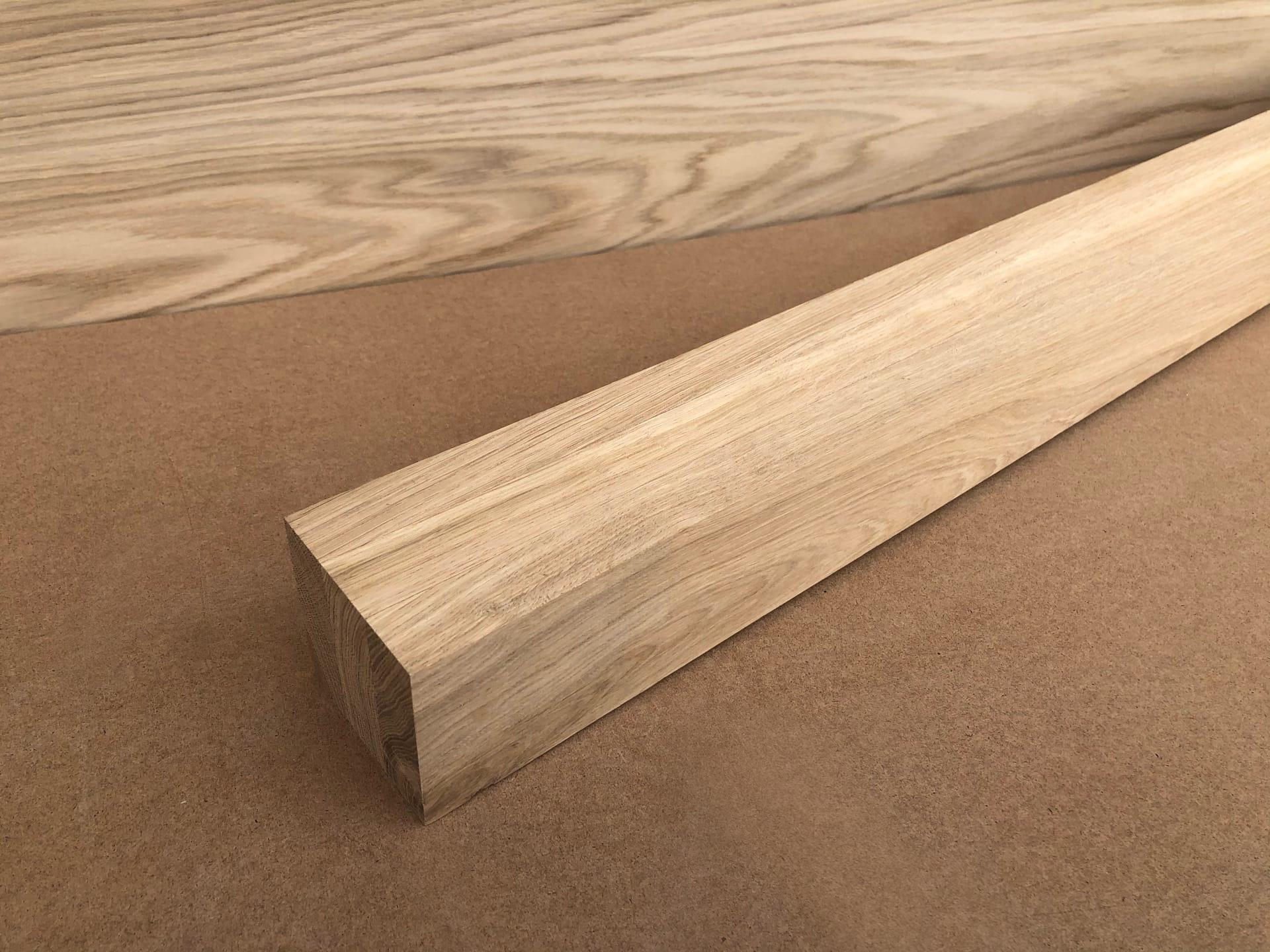 Мебельный брус - ясень цельноламельный 60 мм х 60 мм х 900 мм