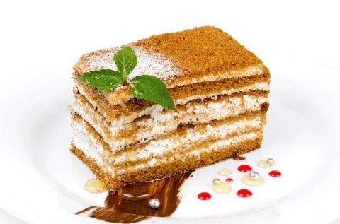 Торт Медовик Пекарня Дон Батон 0,3кг