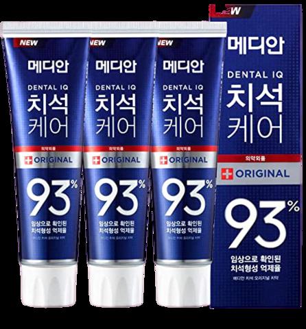 Median Dental IQ 93% Original Классическая зубная паста 120гр*3шт