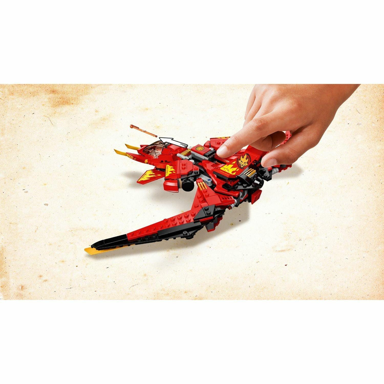 Конструктор LEGO Ninjago Истребитель Кая 71704